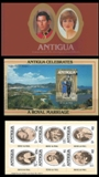ANTIGUA 1981. Booklet Diana Wedding.BULK:10x