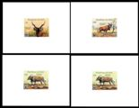 MALI 1986 WWF. Giant Eland DeLuxe proofs:4