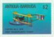 ANTIGUA & BARBUDA 1987 Transport NC-4 flying boat/plane $2. IMPERF.+PROGRESSIVE PROOFS :4 stages