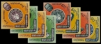 ADEN-Qu´aiti State of Hadhramaut 1966. World cup football.IMPERF.10-Blocks:8 (80 stamps)