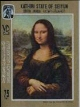 ADEN-Kathiri State of Seiyun 1967 Painting Mona lisa .IMPERF.4-BLOCK