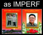 KOREA DPR (north) 2012 Kim Jung-Il Kim Jung-Un IMPERF.SHEETLETS:2 [PRINT:1000] BULK:100x (total 200 sheetlets)