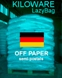 Germany LazyBag 100g (3½oz) off paper semi-postals