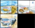 ST.THOMAS & PRINCE WWF Olive Ridley Turtle OVPT:new values.SET: 3-MARG