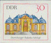 GERMANY-DDR 1968. Castle 30pf. PROOF [PRINT:10]
