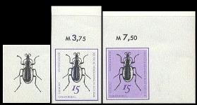GERMANY-DDR 1969. Beetles 15pf. PROGRESSIVE PROOFS:3