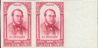FRANCE 1948. Pierre-Joseph Proudhon the first anarchist semi-postal 6+5F. Proof PAIR