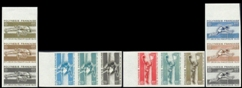 FRENCH POLYNESIA 1966 polynésie. Running Basket sports. PROOFS :3-STRIPS :4