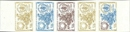 FRENCH SOUTHERN & ANTARTIC TERRITORIE TAAF 1968. WHO Flowers 25F.Proof :5-Strip