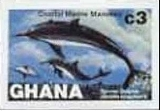 GHANA 1983 Whales C3. Progressive proofs :4 stages