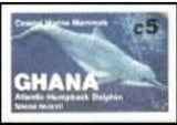 GHANA 1983 Whales C5. Progressive proofs :4 stages
