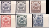 HAITI 1898. Coat of Arms PROOFS:6
