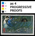 KOREA DPR (north) 2001 Snake catchers 80w PROGRESSIVE PROOFS:4 [PRINT:48]