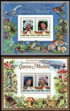 ST.LUCIA 1985. Queen Mother Concorce mushrooms Deluxe proofs. BULK :10x