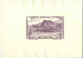 REUNION 1933 Waterfront Mountains hills PROOF missing facevalue