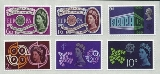 GREAT BRITAIN. EUROPA set :6 self adhesive stamps.OFFICIAL REPRINT ( not postage valid )