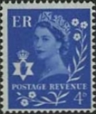 GREAT BRITAIN Northern Ireland 1958. 4d blue 2-phosfor. COMPLETE SHEET:240 stamps BULK:2x=480 stamps full pane