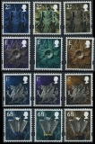 GREAT BRITAIN-Wales 2003. Definitives TEST PRINT:colour
