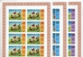 BARBUDA 1974.World Cup Football team result in corner. IMPERF.8-BLOCKS :3 (24stamps). UNISSUED-officially planned
