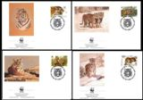 Monaco 1991. WWF. FDC. Hermann's Tortoise turtle. 10 sets (set:4. Total 40 pcs)